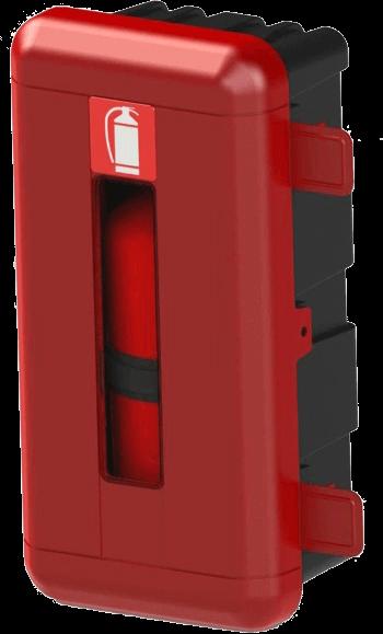 Extinguisher boxes / Wheel chocks